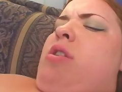 Depraved fat honey fucks with black