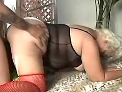 Old mature sucks and fucked by guy